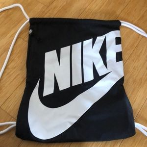 Nike string backpack